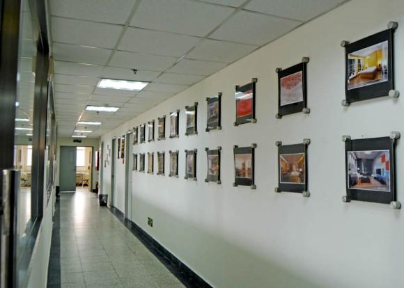 清华大学美术学院走廊赏析
